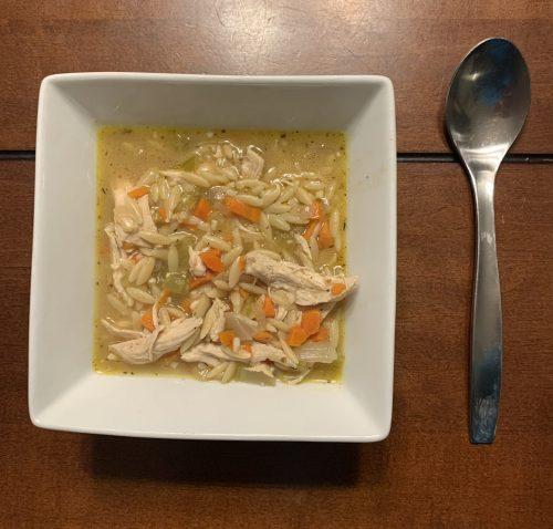 Recipe-Chicken Orzo Soup