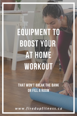 Top 5 Pieces of Equipment to Boost Your At-home Workout
