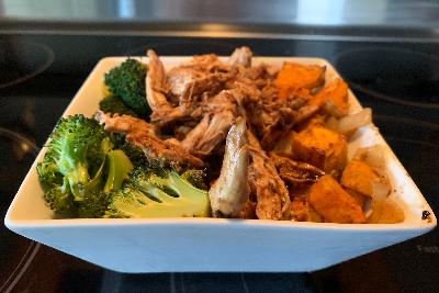 Recipe – BBQ Chicken Bowls