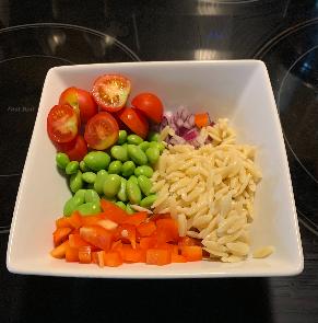 High Fiber Tex Mex Pasta Salad